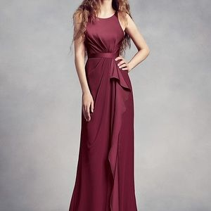 Formal dress muran/wine colored. Worn once
